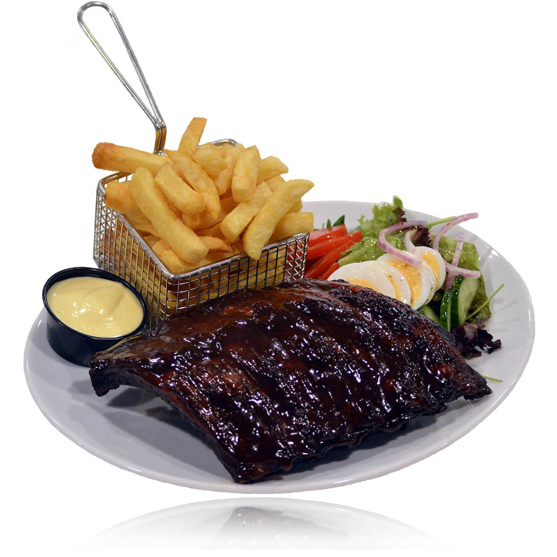 Spareribs menu