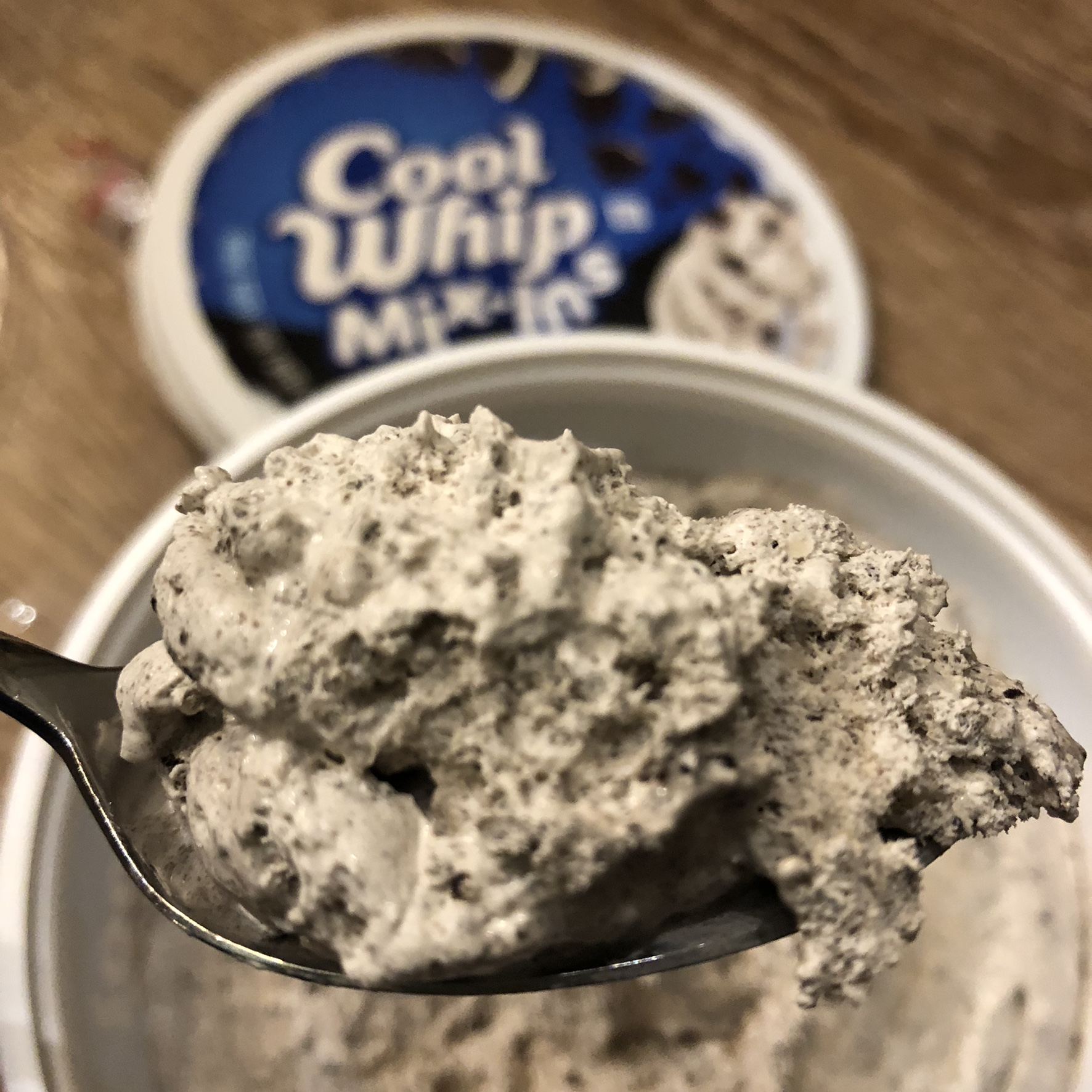 Cool Whip Mix Ins Oreo Review Snack Gator