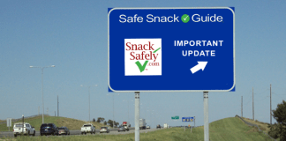 Update to Safe Snack Guide and allergence