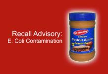 Recall Advisory