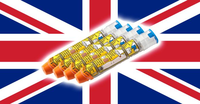 Epinephrine in the UK