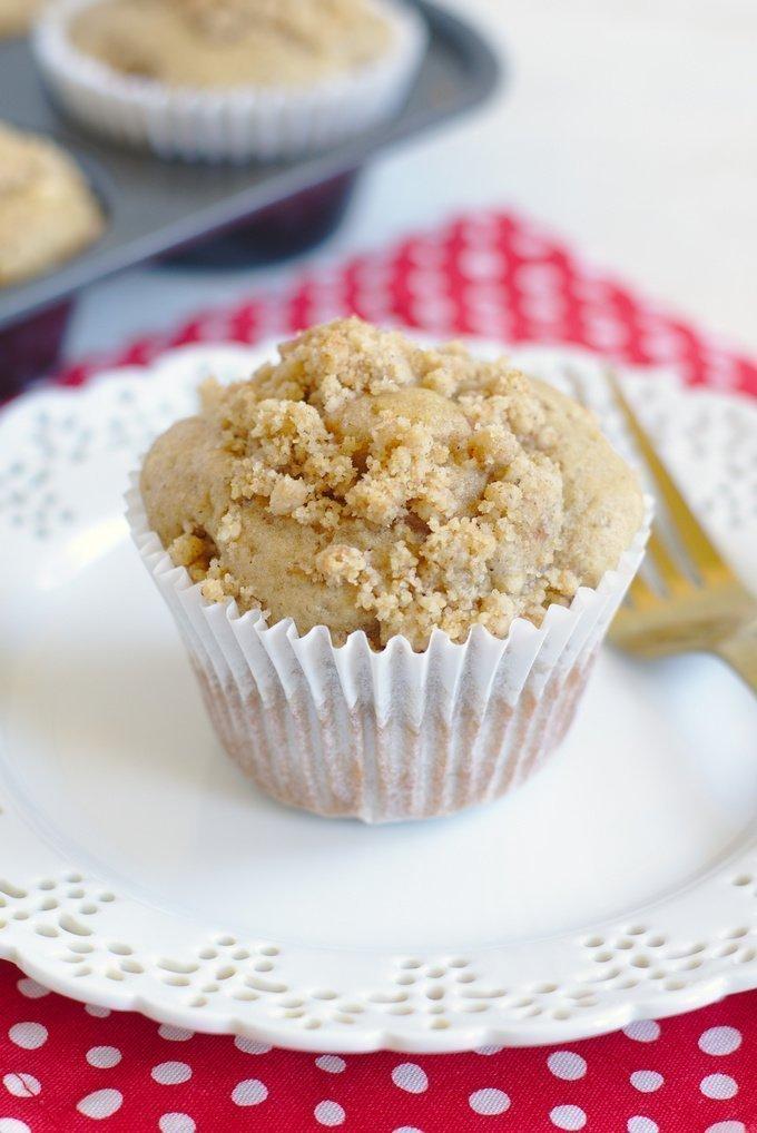 Chai Coffee Cake Muffins