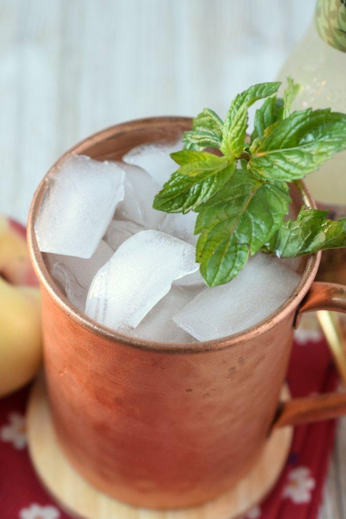 Peach Moscow Mule Recipe