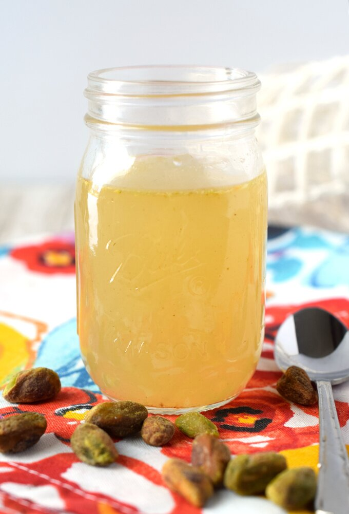 Pistachio Simple Syrup