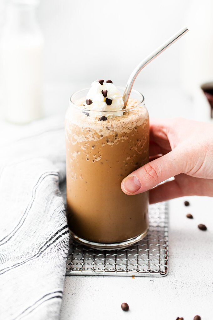 Homemade Java Chip Frappuccino