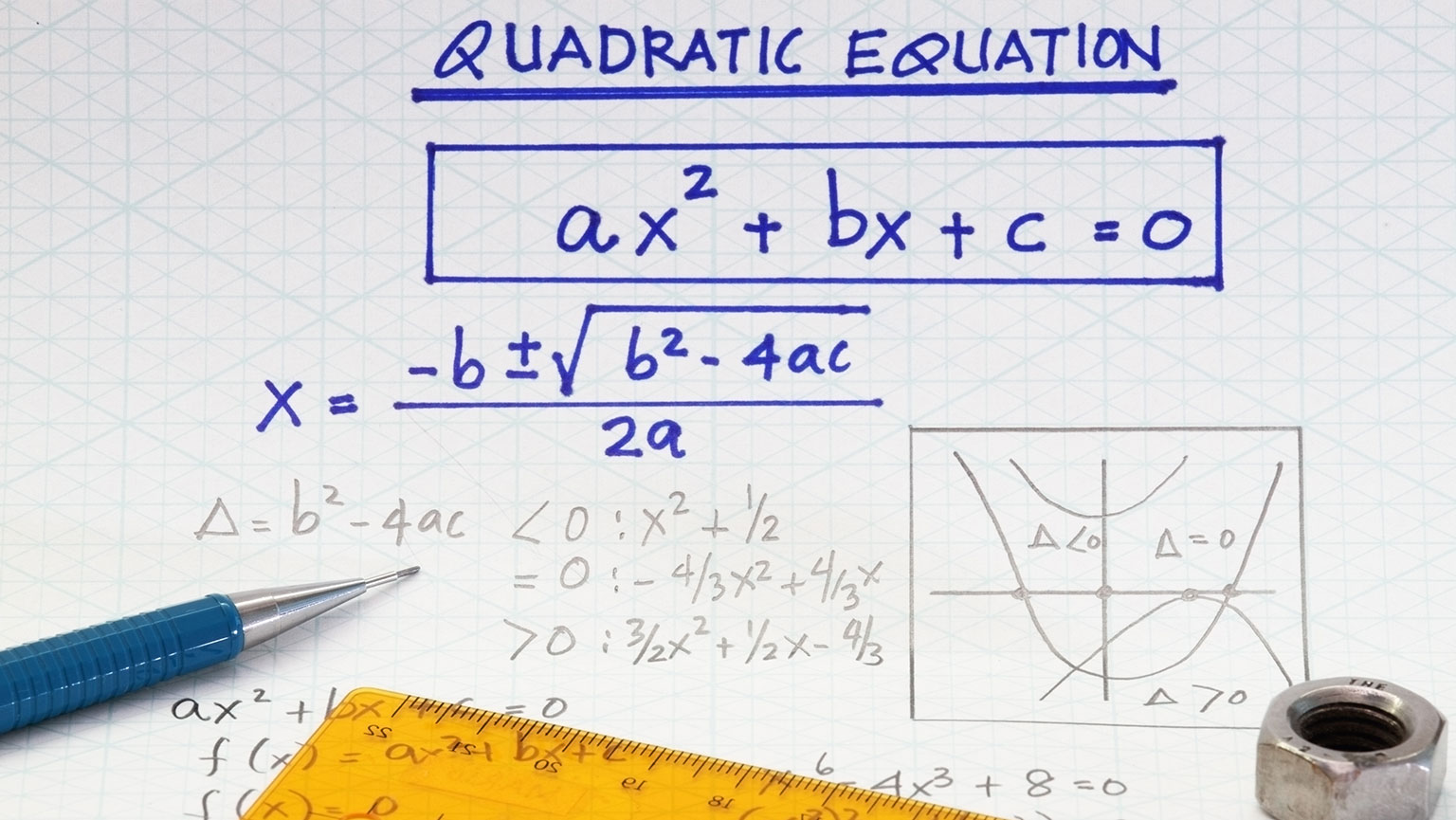 Quadratic Equation Formula