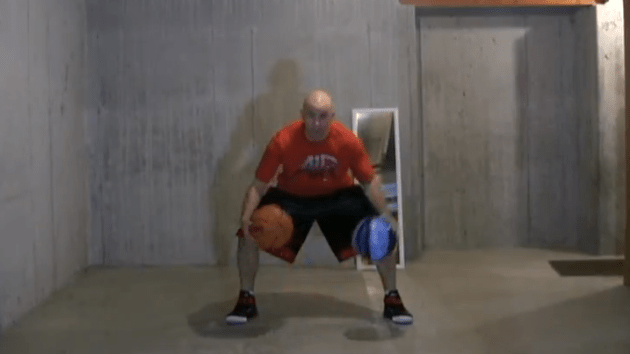 How to Dribble Better Two Ball Triangle Drill