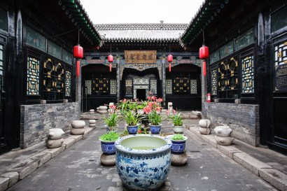 Reconstructed courtyard, Pingyao