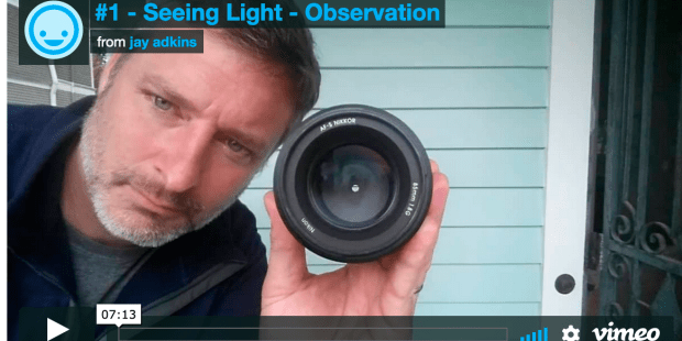 seeing light - observation