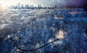 blizzard over ny stephen wilkes 2010