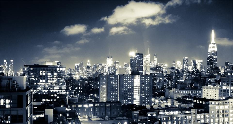 New York City at Night by: Rafal Buch