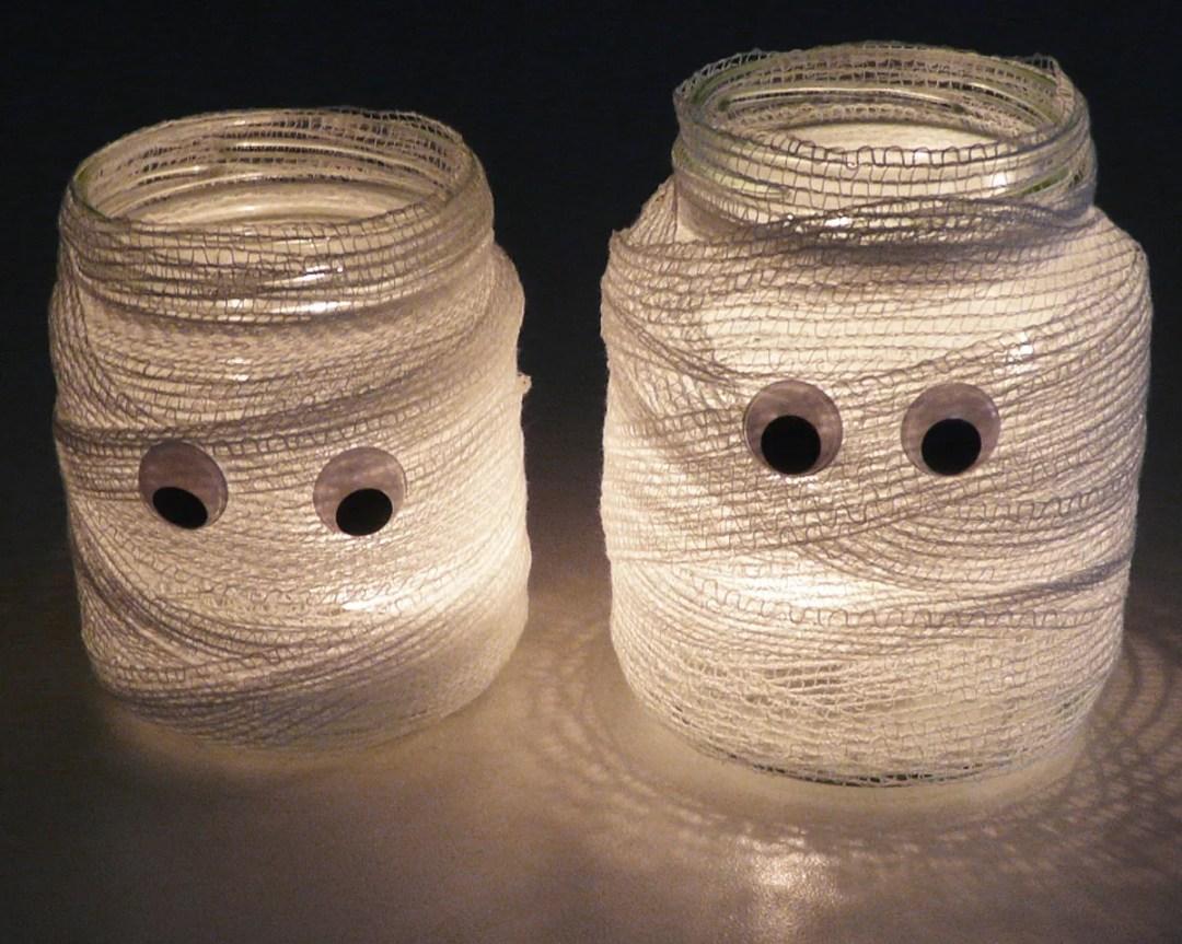 velas momia DIY