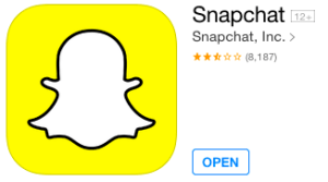 Snapchat is Installed