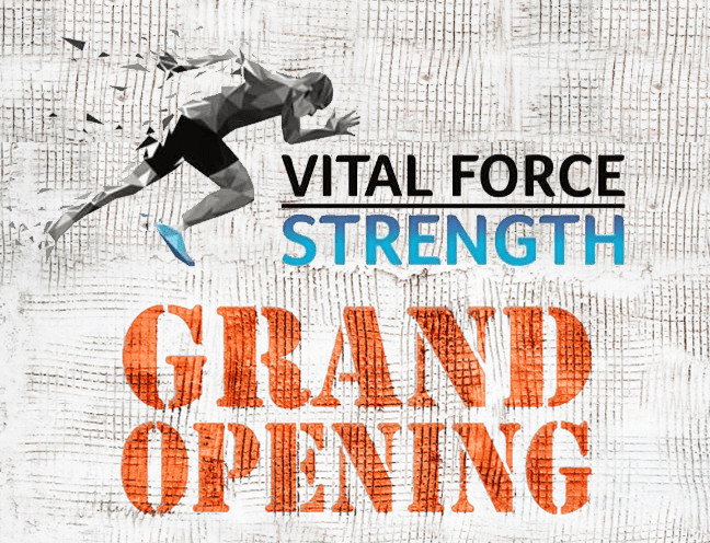 Celebrating the Grand Opening of Vital Force Strength!