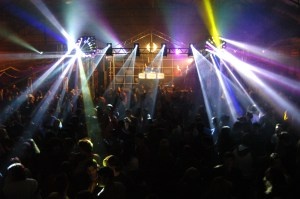 Night Club DJ & Crowd