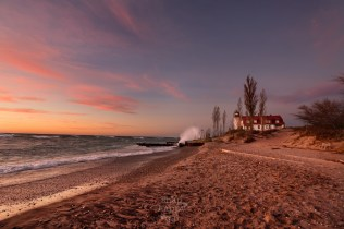 crashing-waves-warm-sunset-point-betsie-lighthouse-lake-michigan-11161170