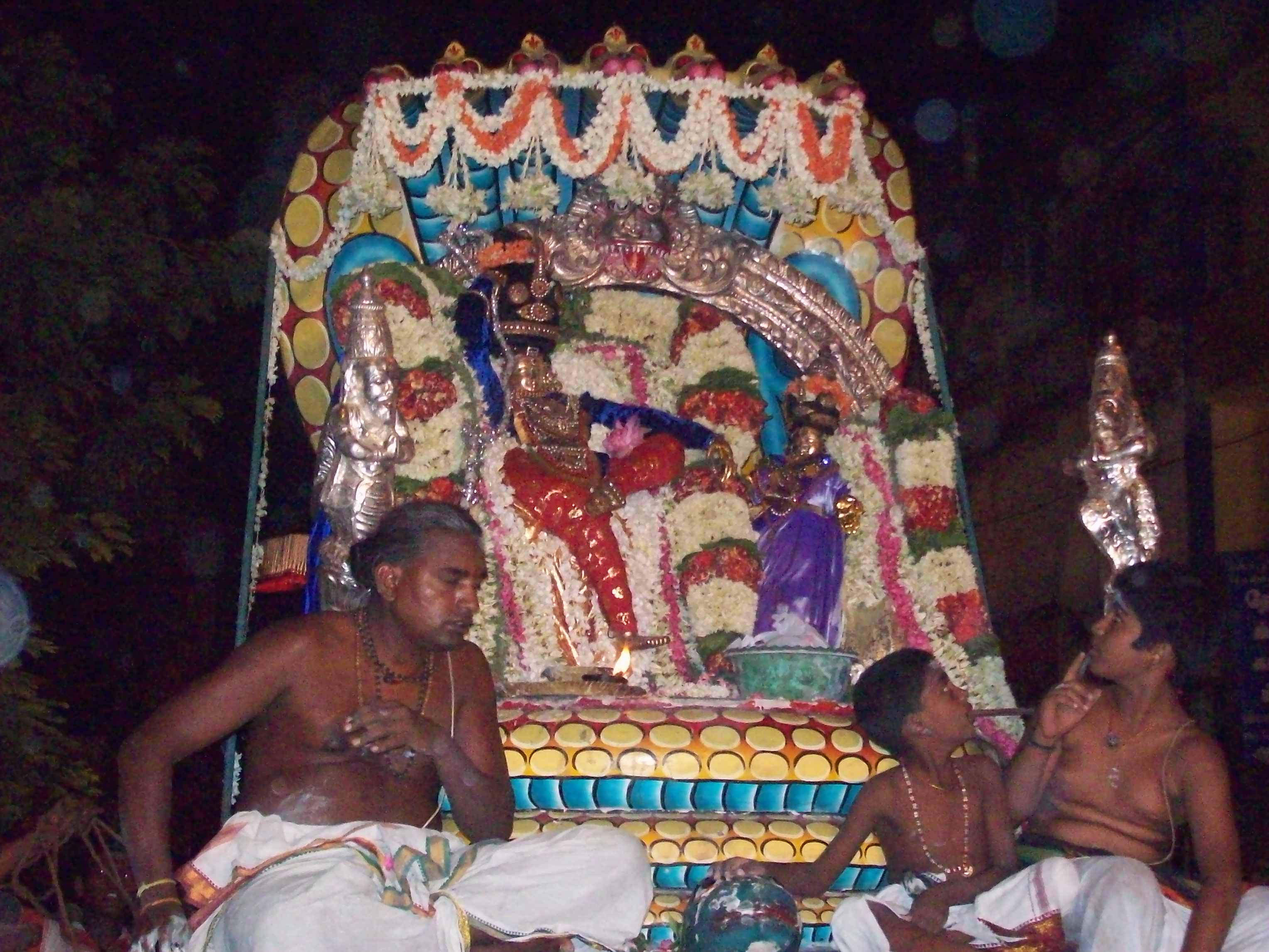 Siva-Paambu-Vaganam-Velli-Eswarar-Sesha-Vaahanam