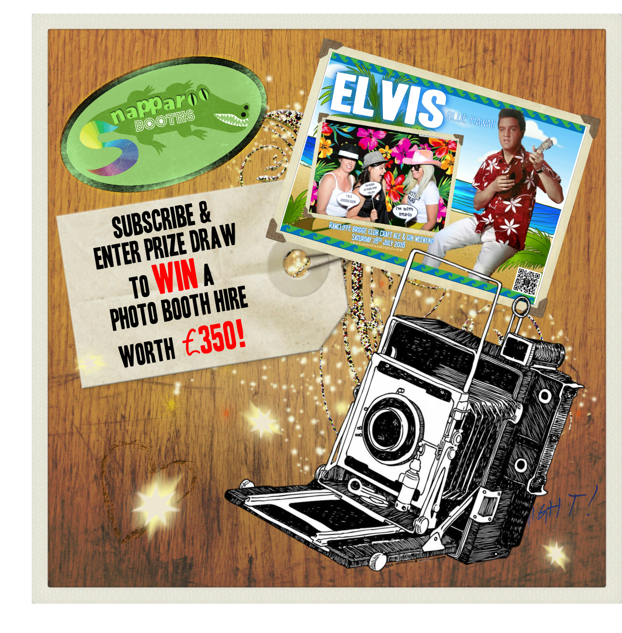 WIN A PHOTO BOOTH HIRE!