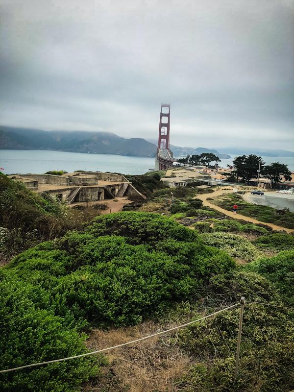 Golden Gate Bridge in Distance