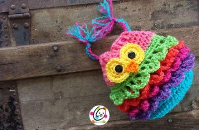Free Pattern: Bonbon Owl Bag