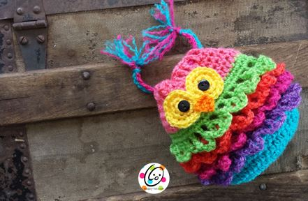 Free Pattern: Bonbon Owl Bag