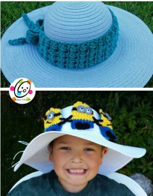 Pattern: Unique Hatband and Headband