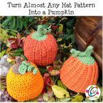Free Pattern: Pumpkin Time Beanies