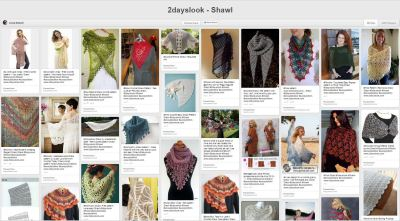 Top Picks: Pinterific Board of the week – Shawl patterns