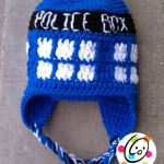 Free Pattern: Police Box Beanie