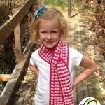 Free Pattern: Wrapped in Hope Scarf