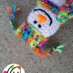 Free Pattern: Itty Bitty Snowman