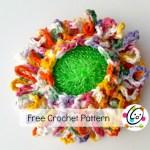 Free Pattern: Bloomin Scrubbie