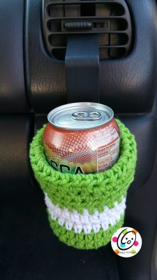 Free crochet pattern ~ car caddy and drink holder