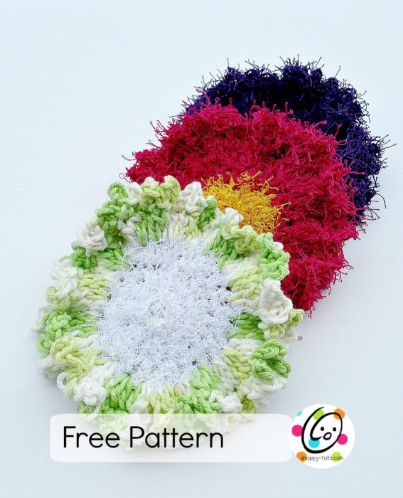 flower dots free pattern