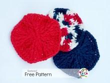 Featured Pattern: Textured Scrubbies
