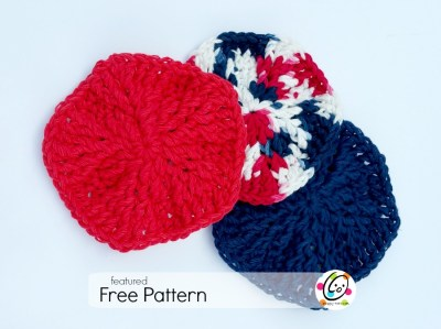 Featured Free Pattern: Textured Scrubbies
