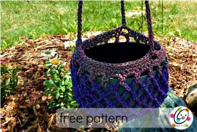 Free Pattern: Plant Holder