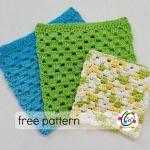 Free Pattern: Granny Dish Cloth