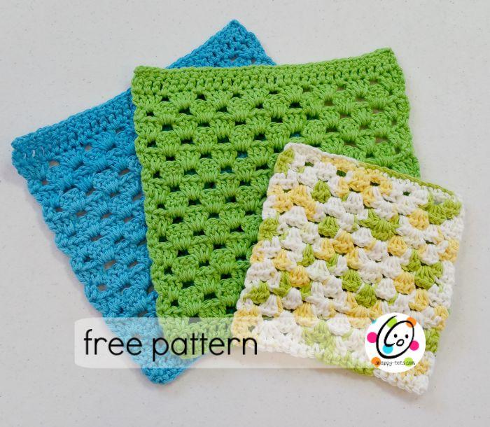 granny cloth free pattern