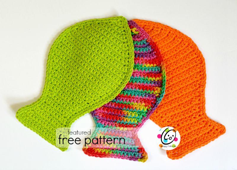crochet fish cloth