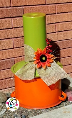 DIY fall pumpkin