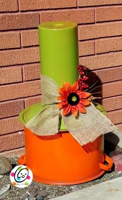DIY fall pumpkin