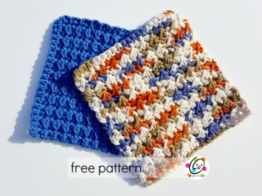 little toughies - free crochet cloth pattern