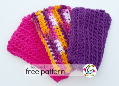 Featured Free Pattern: Crochet Dish Sponge