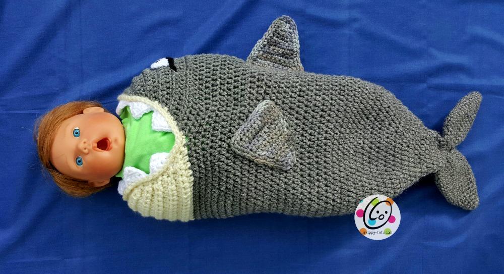 Crochet Baby Shark Pattern Snappy Tots