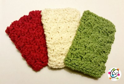 Free Pattern: Scalloped Scrubbers