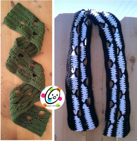 usa zoe free crochet scarf pattern
