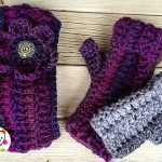 Free Pattern: Matching Headband and Mitts, a favorite set for gifts