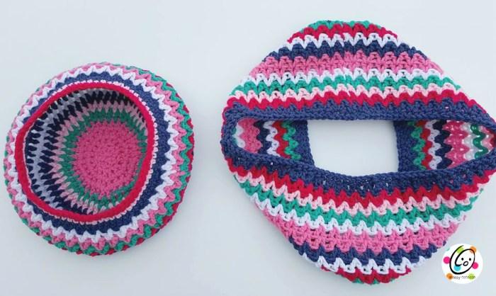 hide your neck cowl free crochet pattern