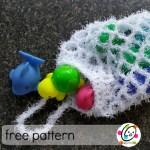 Freebie: Bath Scrubby Bag